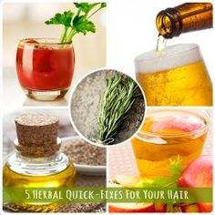 5 Herbal Quick-Fixes for Your Hair