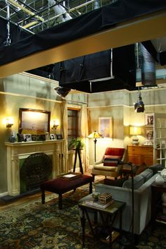 """Lovely mantle. """"The Good Wife"""" set"""