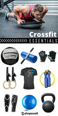 Top rated crossfit gear for men and women to help you rock your next trip to the box.