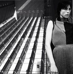 Linear buildings and Proenza Schouler SS14. http://www.dazeddigital.com/fashion/article/17121/1/proenza-schouler-ss14