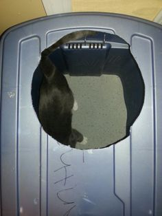 Mess free litterbox best thing ever