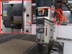 HSD Spindle for Wood engraving machine with Linear ATC system