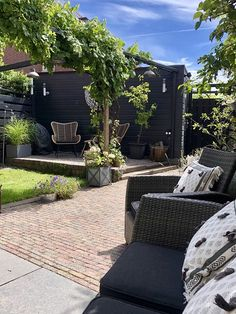 Big Garden, Home And Garden, Garden Makeover, Green Rooms, Outdoor Living, Outdoor Decor, Garden Inspiration, Porch, Sweet Home