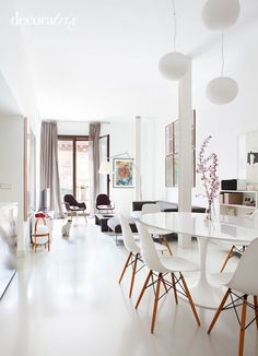 Bright apartment in Madrid by architect Isabel Fraga 4