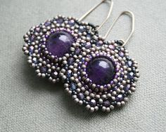 Hey, I found this really awesome Etsy listing at https://www.etsy.com/listing/265209248/grey-purple-silver-amethyst-earrings