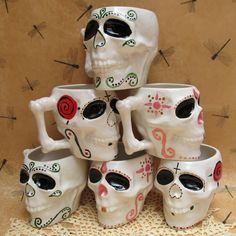 Sugar Skull mugs!
