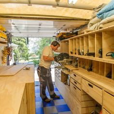 Over the years, Washington-based homebuilder and designer Ron Paulk has created a number of tool trailers for himself. He put all of that expertise and experience into his latest Mobile Woodshop, neatly contained—and fully functional—inside of a 1,000-cubic-foot box truck that he can drive right up to the jobsite. We...