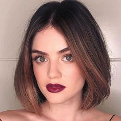 Looking for the best way to bob hairstyles 2019 to get new bob look hair ? It's a great idea to have bob hairstyle for women and girls who have hairstyle way. You can get adorable and stunning look with… Continue Reading → Summer Haircuts, Bob Haircuts For Women, Short Hairstyles For Women, Summer Hairstyles, Long Haircuts, Black Hairstyles, Short Hair Cuts, Short Hair Styles, Blonde Balayage Bob
