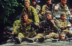 Russian commandos - Chechnya - Eric Bouvet