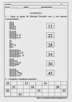 Espaço Professor: Pasta de atividades Sistema de Numeração Decimal