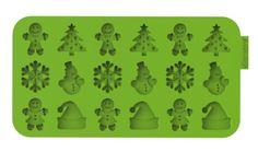 "Siliconezone SZ13OM-11858AA ""Christmas"" Chocochips Mold"