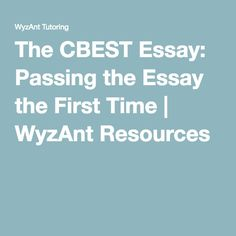 narrative writing prompts tutoring writing the cbest essay passing the essay the first time wyzant resources