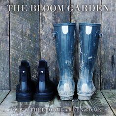 Hunter Chelsea Short Wellington Boots www.thebloomgarden.co.uk