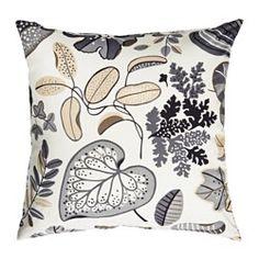 IKEA - SYSSAN, Kussen, , Katoenfluweel geeft een diepe kleur en voelt lekker zacht aan.De vulling van eendenveren voelt donzig aan en biedt optimale ondersteuning aan je lichaam.Door de rits is de hoes makkelijk afneembaar.