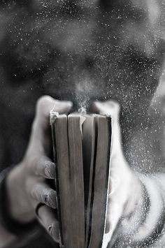 The smell of old books, it's just something you can't ever forget. Intoxicating in a good way.