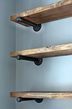Ideas For Diy Shelves Kitchen Restoration Hardware – Top Trend – Decor – Life Style Diy Kitchen Shelves, House Shelves, Living Room Shelves, Kitchen Storage, Kitchen Craft, Kitchen Tools, Living Rooms, Kitchen Cabinets, Rustic Desk