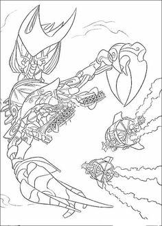 Atlantis Ausmalbilder. Malvorlagen Zeichnung druckbare nº 4
