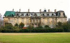 The abandoned Rothschild mansion in Paris.