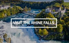 If you are having your holidays and you are passing by Switzerland's, you definitely need to visit the Rhine Falls. Here's the reason why Rhine River Cruise, Largest Waterfall, Fallen Book, Boat Tours, Day Trip, Nice View, Cool Places To Visit, Switzerland, The Good Place