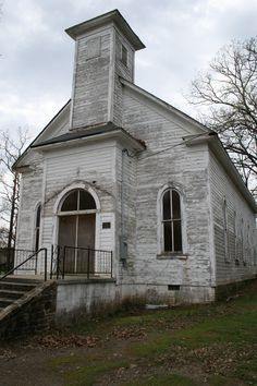 An old church in Houston, Arkansas. There was not anything to say how long this church has been here.