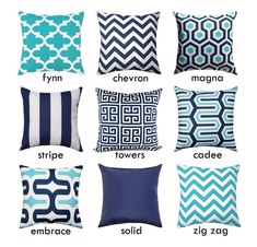 Fabric Designer - Premier Prints Fabric Name - Your Choice Fabric Color - navy blue, aqua and white Washing Instructions help : *Use cold