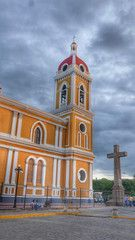Top Five things to do in Granada Nicaragua. Cathedral of Granada in Parque Central Nicaragua
