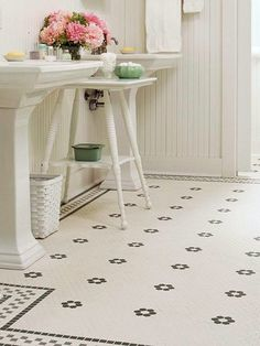 Ceramic Tiles top choice for Bathroom flooring.