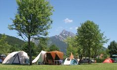 Perfect pitches: camping in France