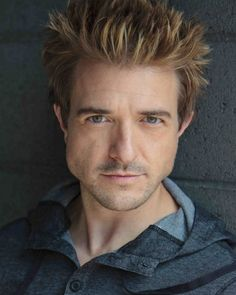 Jeremy Kent Jackson, actor. This is what another character in my book looks like, don't judge!