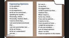 Forum | ________ Learn English | Fluent LandExpressing Opinions | Fluent Land