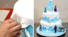 Torta Frozen 2 pisos