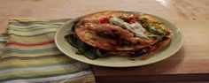 "Chorizo Tostadas (The Chew's Ultimate Food Tour) - Mario Batali, ""The Chew"" on ABC. Endive Recipes, Onion Recipes, Beef Recipes, Cooking Recipes, Authentic Mexican Recipes, Mexican Food Recipes, Ethnic Recipes, Tostadas, Tacos"