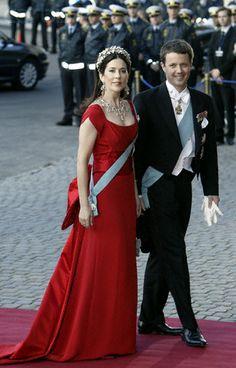 May, 2004--European Royals Arrive for Copenhagen Gala