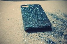 Create the most spectacular iPhone case ever. #DIY #glitter #craft