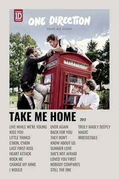 Home One Direction, One Direction Albums, One Direction Posters, One Direction Wallpaper, One Direction Pictures, Minimalist Music, Minimalist Poster, Iconic Movie Posters, Film Posters