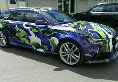 Audi RS6 Avant camo