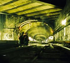 Railroad tunnel in France
