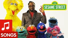 """honestly so cute! singing this at our spring show! Sesame Street: Will.i.am Sings """"What I Am"""""""