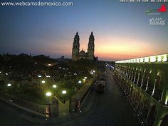 Vista de la Catedral de Campeche. Viajes