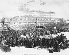 """Chartist general strike 1842 and UK miners' strike 1984-5.    """"The bookends of the movement for fair employment and the right to work in Britain. The workers' movement was born in earnest with the Chartist strike – the largest industrial action in the world in the 19th century, with half-a-million workers withdrawing their labour or taking over their factories.""""  Ed Vulliamy, The Observer"""
