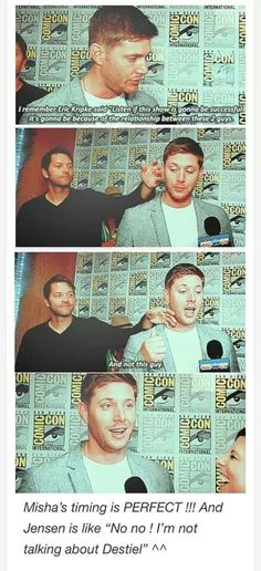 lol it's all about the Destiel