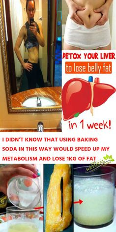 I DIDN'T KNOW THAT USING BAKING SODA IN THIS WAY WOULD SPEED UP MY METABOLISM AND LOSE 1KG OF FAT-In order to be healthy and fit, you need to follow a healthy lifestyle and
