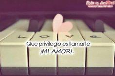 :) te amo mi amor