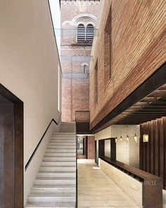 Entrance foyer of winning design for the Halle St Peters #Competition by Stephenson Studio #architect #architecture #archilovers #architectural #design #interiordesign #manchester #building