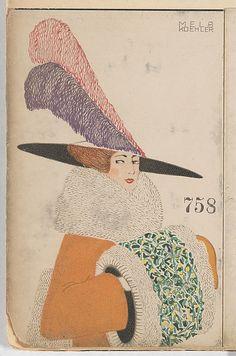 Fashion (Mode) Mela Koehler (Austrian, Vienna 1885–1960 Stockholm), published by Wiener Werkstatte, 1912