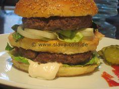 Selbstgemachte Burger ala Big Mac – Whopper « kochen & backen leicht gemacht mit Schritt für Schritt Bilder von & mit Slava