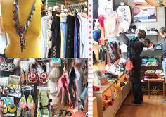 Wolfbait & Bgirls. coolest handmade store ever!