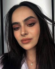 Before and after applying the Lock-it Powder foundation - gives the skin a lovely airbrushed effect AND it's vegan + cruelty… Big Eyebrows, Full Brows, Makeup Inspo, Beauty Makeup, Cake Liner, Being Good, Neutral Outfit, I Give Up, Pretty Makeup