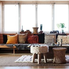 Pin from www. House Doctor, Accessoires Hippie, Fall Winter, Autumn, Cushions, Pillows, Outdoor Furniture Sets, Outdoor Decor, Bohemian Decor