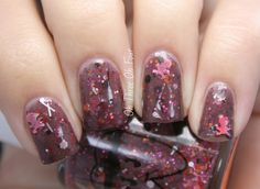 Doctor Lacquer Don't Drink the Pink-Aid! LOVE the tiny skull & crossbones glitter!